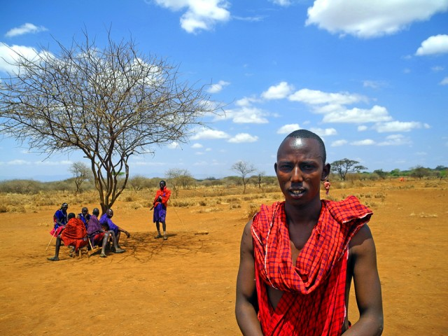 Maasai leader