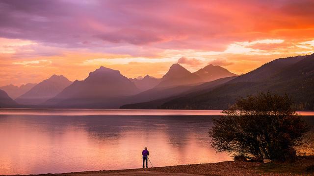 Lake McDonald in Galcier National Park