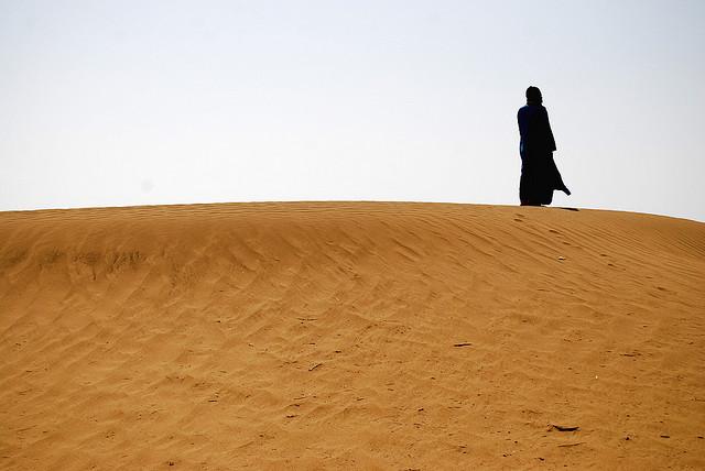 Nomad in Sahara