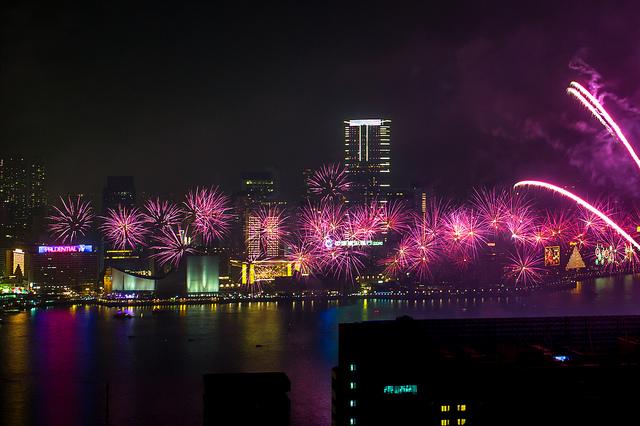 Hong Kong New Year Eve