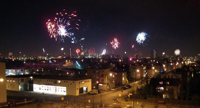 Reykjavik New Year Eve