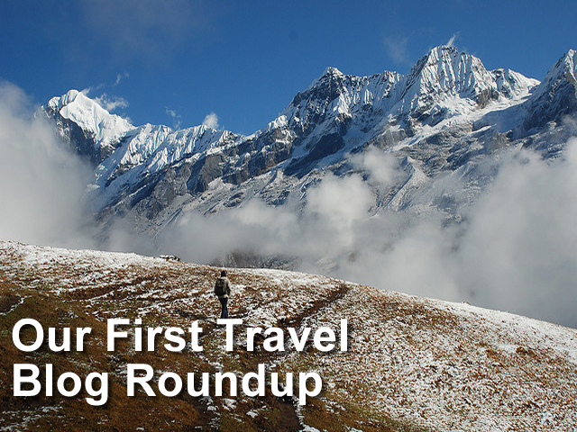 Our First Travel Blog Roundup